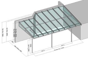 Terrassendach TerraSmart Elegant -Line