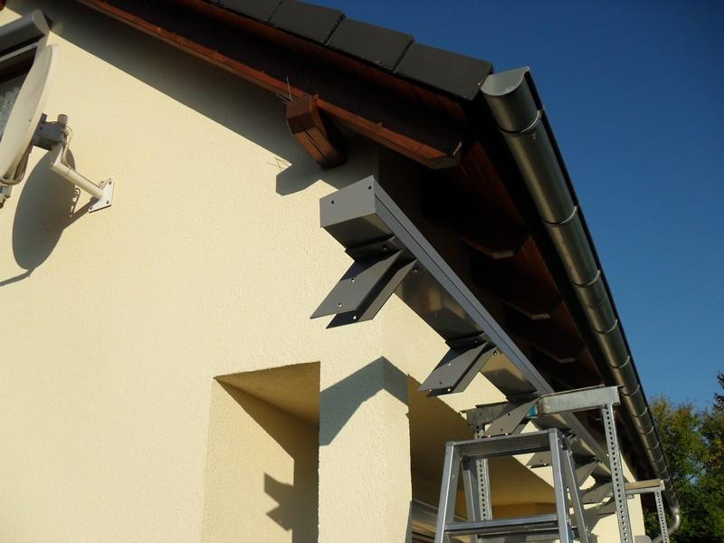 Dachsparrenanschlußmodul