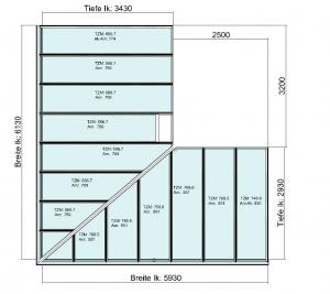 Planung Eck-Terrassendach
