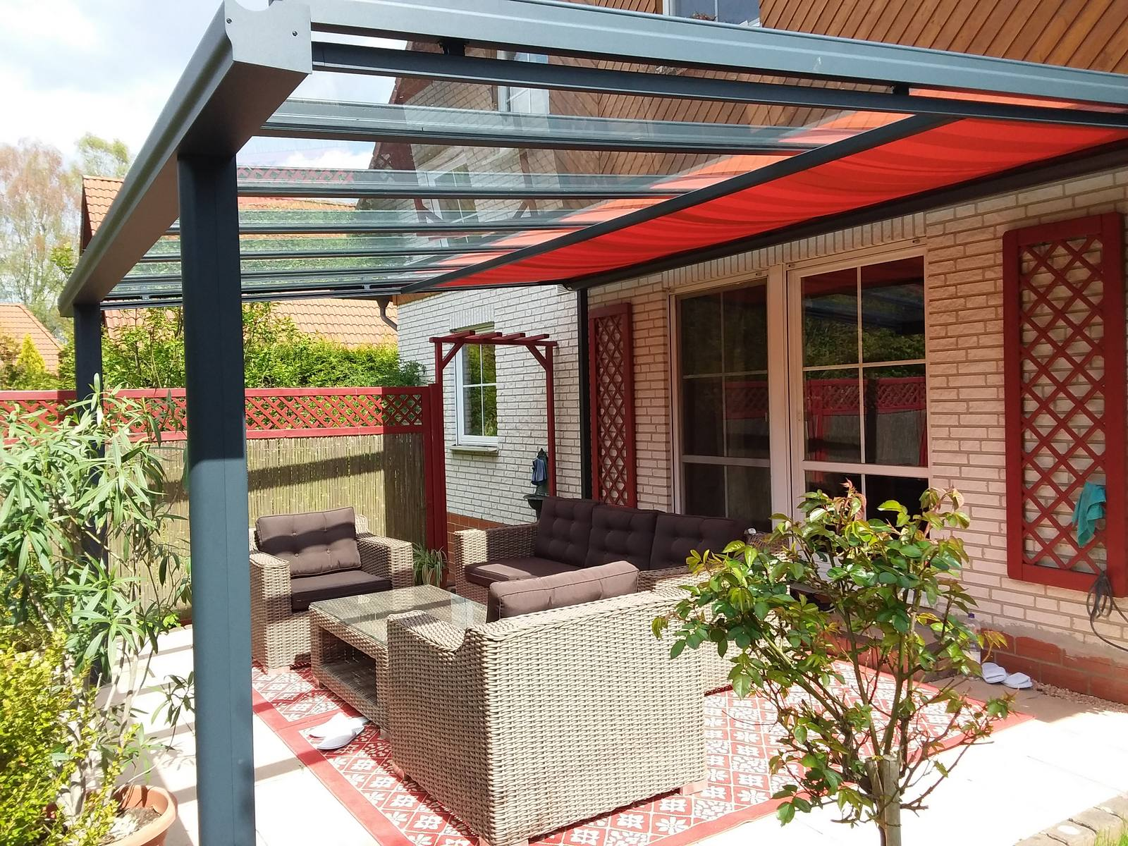 t200 terrassendach unterdach markise terrassendach. Black Bedroom Furniture Sets. Home Design Ideas