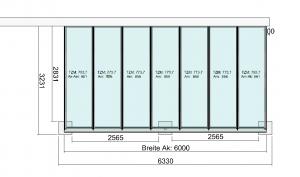 TerraSmart Classic-Line Terrassendach mit grosser Dachneigung