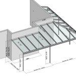 Eck-Terrassendach Classic-Line an Hauswand mit Erker