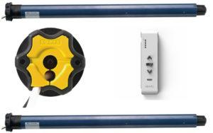 Somfy Funkmotorenpaket IO mit 5-Kanal Handsender
