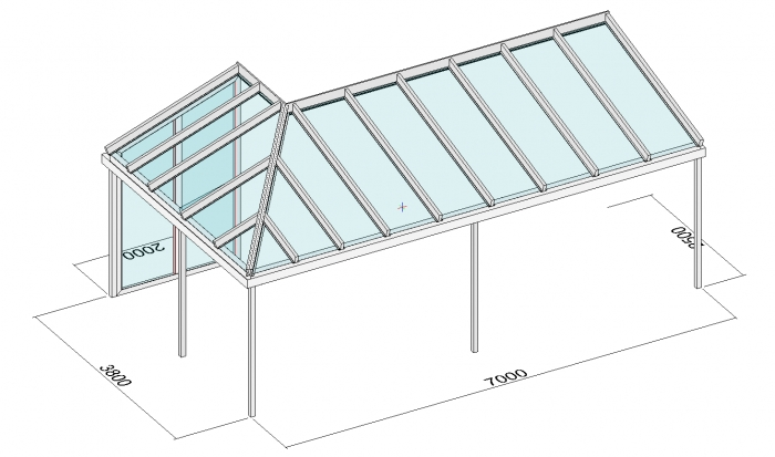 terrassendach direkt aktuelle planungen eck. Black Bedroom Furniture Sets. Home Design Ideas