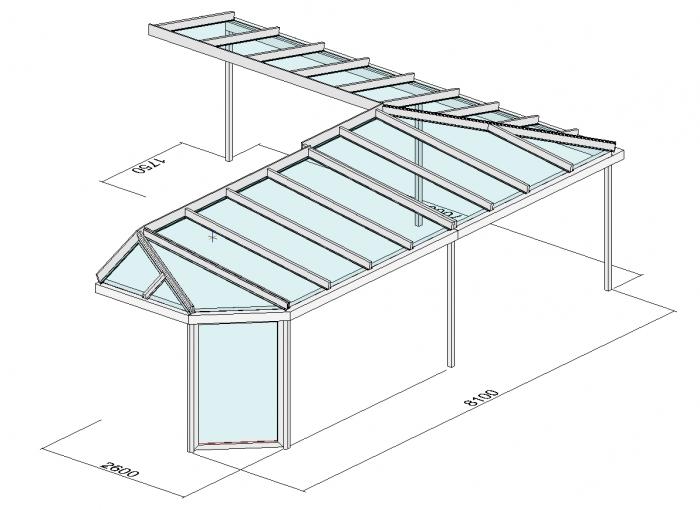 terrassendach direkt aktuelle planungen terrassen berdachung als eckvariante. Black Bedroom Furniture Sets. Home Design Ideas