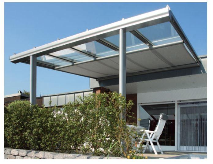 markise unter glasdach beautiful unter glasdach sonnenbrand unter glasdach with markise unter. Black Bedroom Furniture Sets. Home Design Ideas
