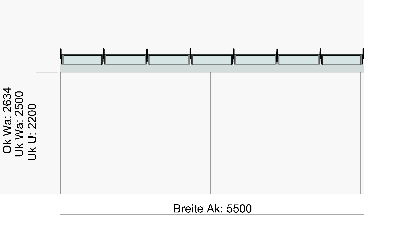 Bauzeichnung Garage terrassendach planung zeichnungen