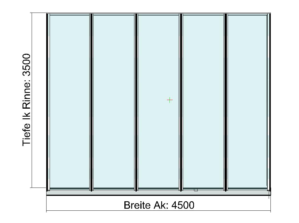 Terrassendach Planung Zeichnungen